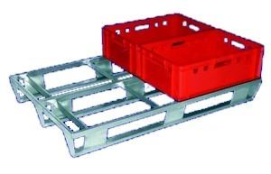 Flachpalette für E-Kisten SP184