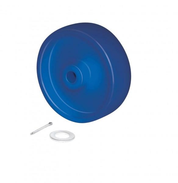 Radsatz Polyamid 150 mm für Beschickungswagen