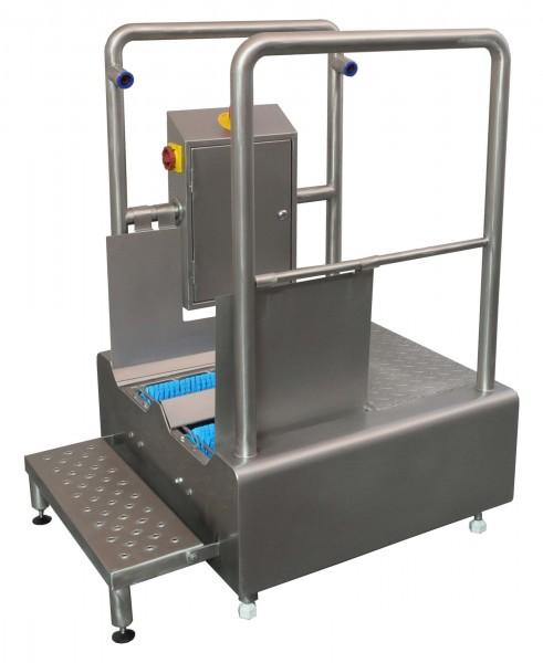 Durchlauf Sohlenreinigungsmaschine