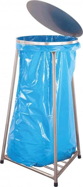 Müllbeutelständer mit Deckel, Modell Swiss