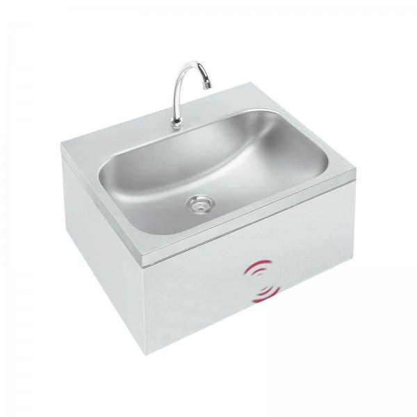 Handwaschbecken mit Kniebedienung