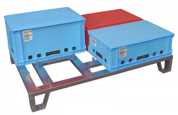 Trocknungspalette für Euro-Kisten