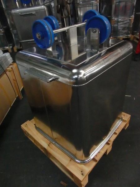 Beschickungswagen 300 Liter, elektrolytisch poliert SP483