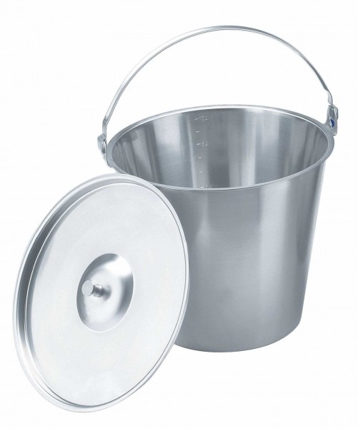Eimer und Deckel 10 / 15 Liter