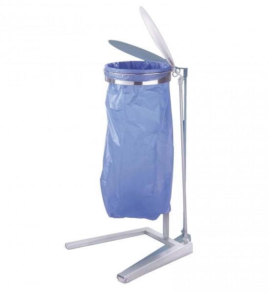 Müllbeutelständer mit Fußpedal
