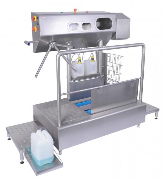 Hygienestation Typ 62 für Trockenbetrieb