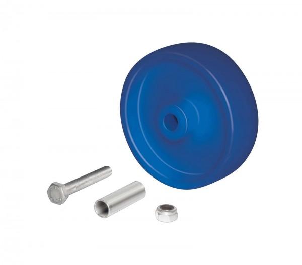 Radsatz Polypropylen 125 mm für Rollis