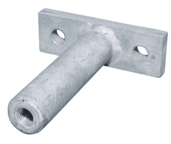 Deckenhalter für Rohrbahnen