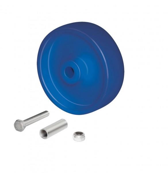 Radsatz Polyamid 150 mm, detektierbar für Beschickungswagen
